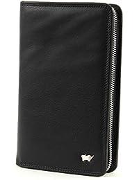Braun Büffel Golf Hochformatbörse mit Reißverschluss