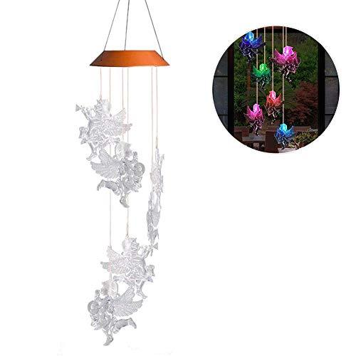 rleuchte Windspiel für Weihnachten, Außenleuchten solarbetrieben Farbwechsel Kolibri Windspiel für Hause/Party/Nacht Garten Dekoration Farbwechsel Beleuchtung Dekoration Home ()