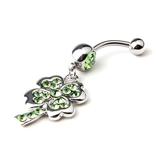 bodya-14g-stahl-smaragd-cz-kristall-lucky-vier-blatt-clover-charme-grun-gemmed-baumeln-bauchnabel-ri