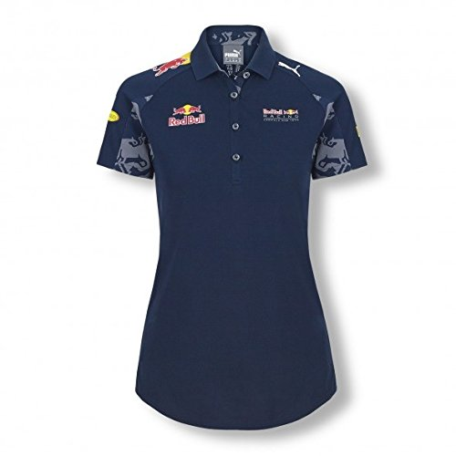 New! 2016 Red Bull Racing F1 Formula 1 WOMENS TEAM POLO SHIRT LADIES FIT by PUMA