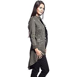 chaqueta para mujer americana elegante otoo invierno colores
