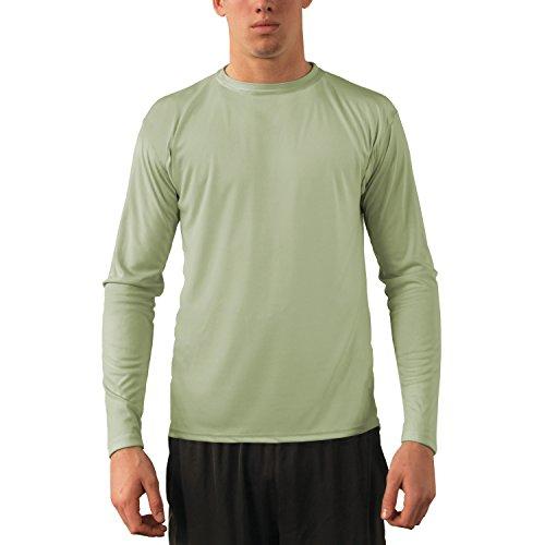 Vapor Apparel Herren UPF 50+ UV Sonnenschutz Langarm Performance T-Shirt L Sage