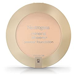 Neutrogena Mineral Sheers Compact Powder Foundation Spf 20, Soft Beige 50.34 Oz. (Pack of 2)