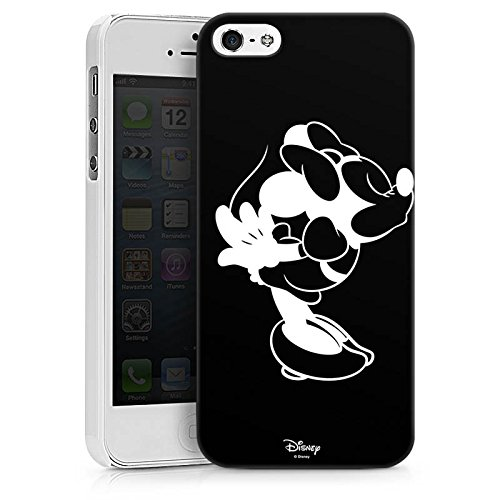 Apple iPhone SE Hülle Case Handyhülle Disney Minnie Mouse Merchandise Geschenke Hard Case weiß