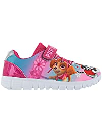 8ec4662e797 Paw Patrol Girls Infant Pink Mesh Character Touch Close Trainers Shoes Size  5-10