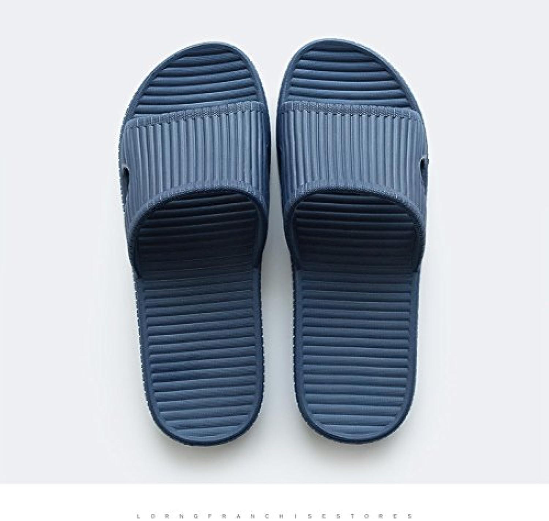 DogHaccd Zapatillas,Los baños están en la casa de verano de plástico interior femenina zapatillas suaves, baño...