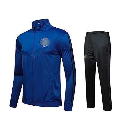 HS-HWH316 Manchester Breath Erwachsener Kind Anzug Set Jogging und Fitnessstudio Bottoms Gelegenheits Full Zip Jogger Sport Sweatsuit mit Taschen Fans Kleidung Geschenk,3XL180~190CM