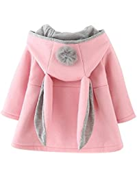 fad276d04 Amazon.co.uk  Pink - Coats   Jackets   Baby Girls 0-24m  Clothing