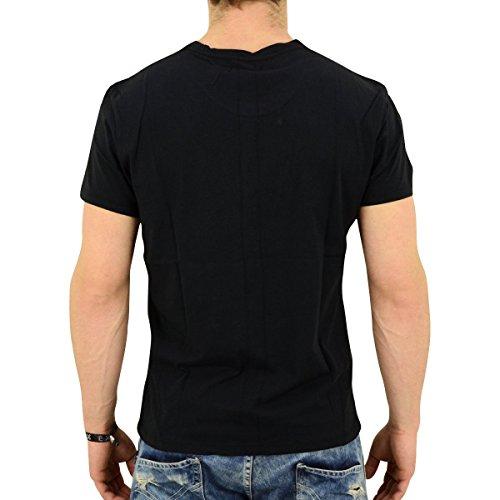 Religion Herren T-Shirt Daglish schwarz - weit geschnitten Black