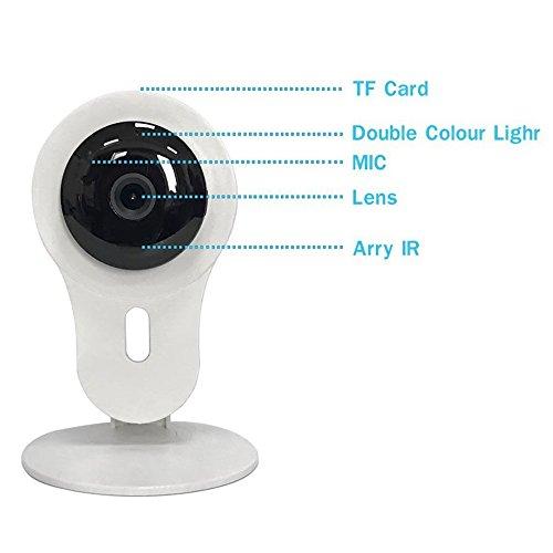 Spy Network Wifi Kamera, Motion Detector Kamera, 720P HD Network Wifi Kamera, Home Überwachung Kamera night Vision function/Two-Way Audio Spy Camera Motion Detector