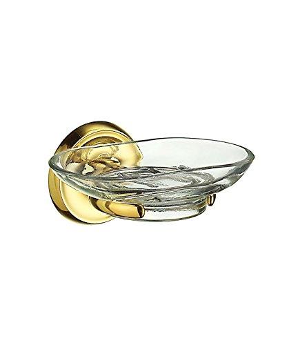 Villa Brass Holder With Glass Soap Dish V242