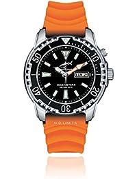 Chris Benz Deep 1000m Helium CB-1000-S-KBO Automatic Mens Watch Diving Watch
