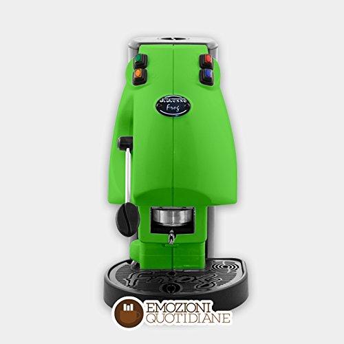 Kaffee Maschine A Waffeln in Papier Ese 44mm Diesse Frog Farbe hellgrün
