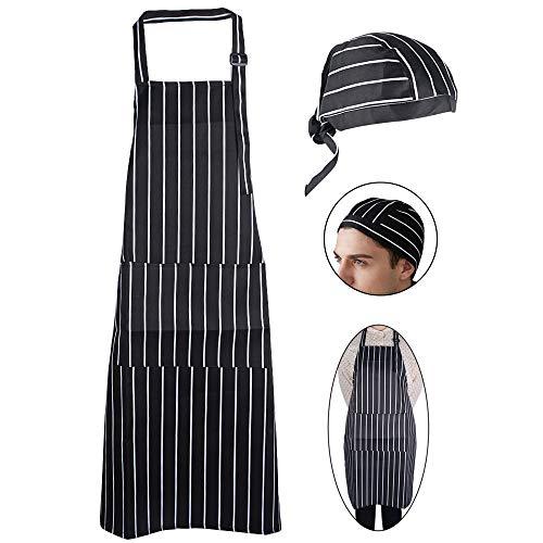 JNCH Kit Delantal Cocina + Gorro Cocina