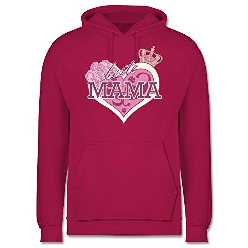 Statement Shirts - Beste Mama - Männer Premium Kapuzenpullover / Hoodie Fuchsia