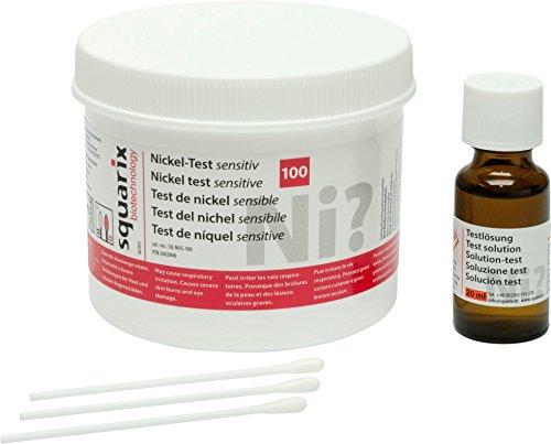 Nickel Test sensitiv 100 Stück