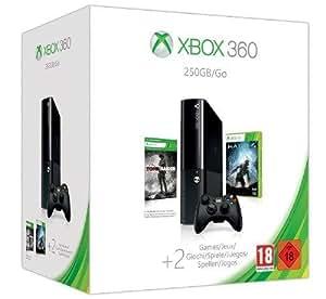 Console Xbox 360 250 Go + Halo 4 + Tomb Raider