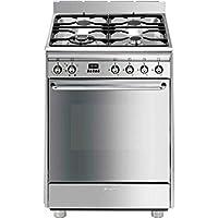 smeg scd60mx9 piano cottura gas a acciaio inossidabile cucina