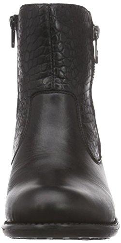 schwarz R6468 schwarz schwarz Schwarz Remonte 02 Damen Boots Biker gXq7Yxvd