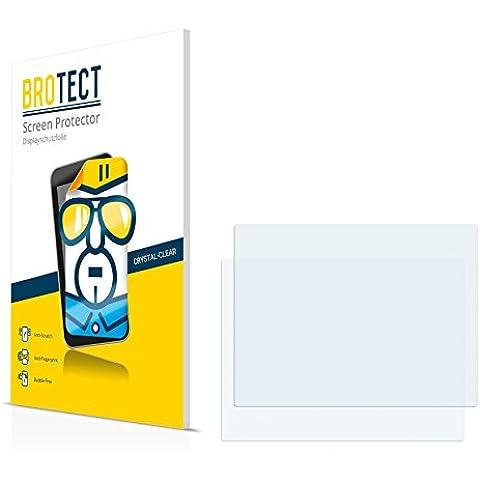 2x BROTECT HD-Clear Pellicola Protettiva Fujitsu Siemens Stylistic ST4110 Schermo Protezione – Trasparente, Anti-Impronte