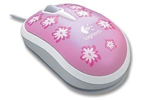 Logitech Flower Mouse Souris Optique pour Enfant