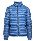 Camp David Leichte Daunenjacke mit Zippertaschen Blue S