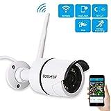 WLAN IP Kamera Indoor 720P HD IP Überwachungskamera IR Infrarot Nachtsicht Sicherheitskamera Bewegungserkennung, 2-Wege Audio mit Baby Monitor,Aufnahme,unterstützt Fernalarm und Mobile App Kontrolle