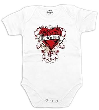 Rock Offspring Rock N Roll Love 700729 Baby T-Shirt 0-3 months