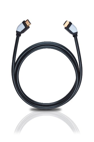 Oehlbach Shape Magic HDMI-Kabel   High-Speed HDMI 2.0b mit Ethernet-Kanal   Übertragung von UltraHD, 4K, 3D, HDR mit 18 Gbits – schwarz 5,10 Meter