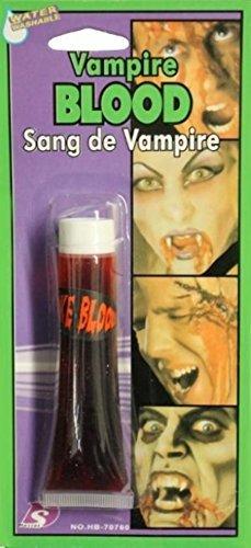VAMPIRE FAKE BLOOD FOR HALLOWEEN FANCY DRESS 28.3G TUBE by DASINI