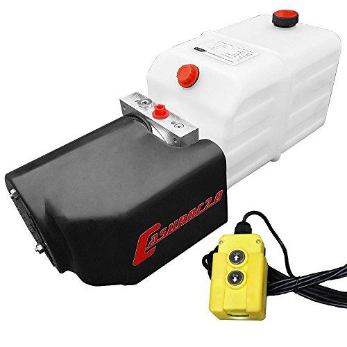 Hydraulikaggregat Casuroc 2.0, Hydraulikpumpe 12 V 180 bar 2000 Watt mit 7 Liter Tank
