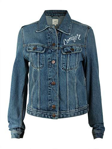 Lee Damen Jeansjacke Rider Jacket, Größe:XS, Farbe:Dusk Vintage (44AT) Lee Basic Jean