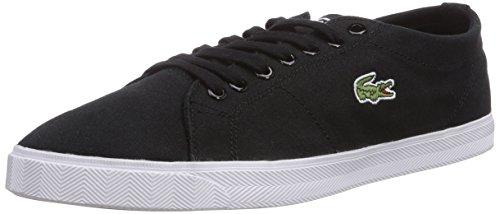 Lacoste MARCEL LCR2, Low-Top Sneaker uomo, Nero (Schwarz (BLK/BLK 02H)), 42