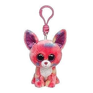 Duchess Clip - Chihuahua pink/blau, 8,5cm