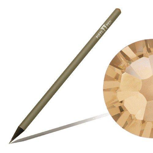 Bleistift mit SWAROVSKI ELEMENTS Piffl Pen titan mit Crystal Golden Shadow (001 GSHA)