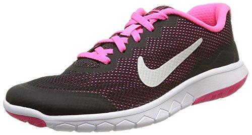 Nike Mehrfarbig (Black/Metallic Silver-Pink Pow), EU 38.5 (US 6Y) (Nike High Heels Sneakers)