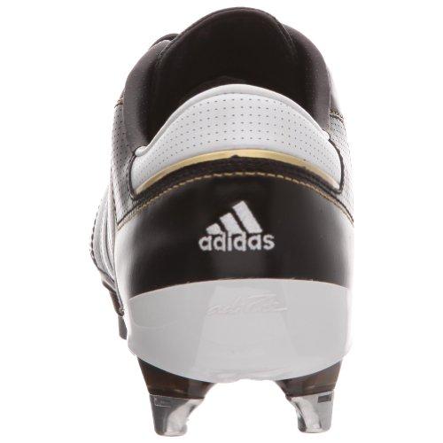 Adidas Adipure Iii Xtrx Sg, Unisex-Erwachsene Fußballschuhe Schwarz (noir/blanc/or Métallique)