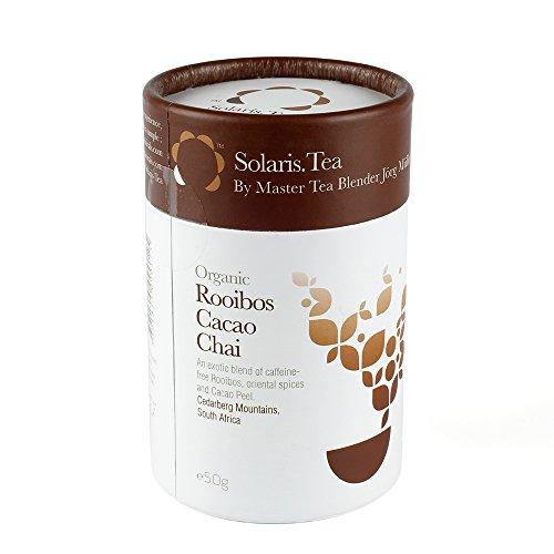 Solaris.Tea Bio Tee Rotbusch - Rooibos Cacao Chai, 1er Pack (1 x 50 g)