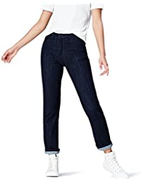 Marque Amazon - find. Jean Droit Taille Normale Femme
