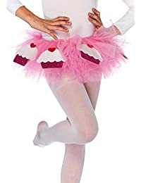 Leg Avenue Cupcake Tutu With Satin Bow Accent (Pink;One Size)