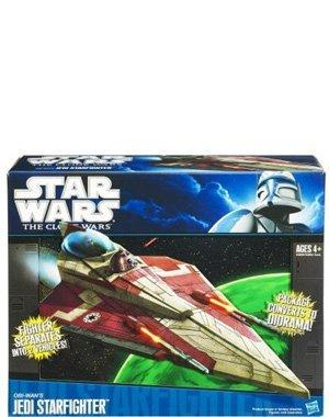 Star Wars The Clone Wars Fahrzeug Obi-Wans Jedi ()