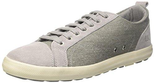 Lumberjack Herren Wolf Sneaker Grigio (Lt Grey)