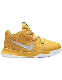 f857223016b4 Nike Kyrie 3 Mac and Cheese Toddler Boys Shoe University Gold Chrome White