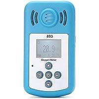 Semoic Medidor De Oxigeno Detector Portatil De Concentracion De Oxígeno (O2) Con Pantalla Lcd
