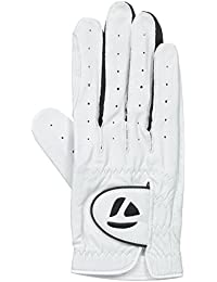 TaylorMade 2013 Mens Tour Targa Leather Golf Glove - White - LH - S