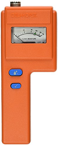 Delmhorst F-6/6-30 Analog Hay Moisture Meter, 6% - 30% by Delmhorst -