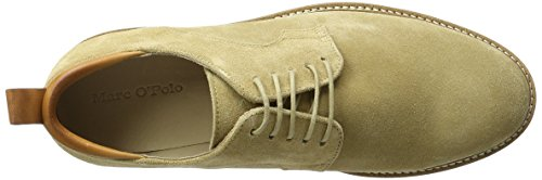 Marc O'Polo 70123703401300 Lace Up Shoe, Derby homme Beige (Dune)