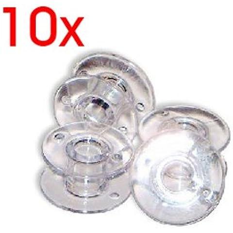 SODIAL(R) Bobinas de Maquina de Coser - Paquete de 10