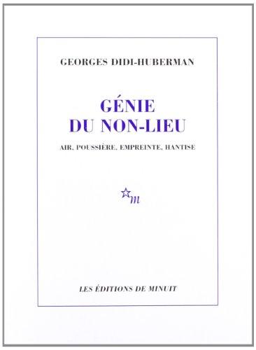 [PDF] Téléchargement gratuit Livres Génie du non-lieu. Air, poussière, empreinte, hantise