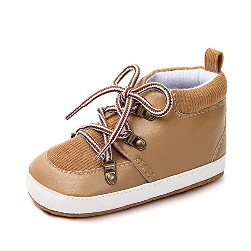 Heligen Baby Schuhe Casual Neugeborenes Baby Newborn Kid Boy Mädchen Stiefeletten Lace-up Krippe Schuhe rutschfeste Sneaker Sportschuhe -